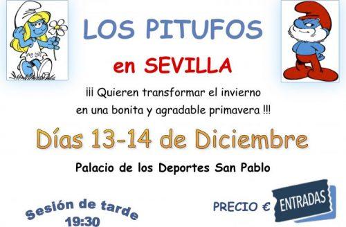 Los Pitufos en Sevilla